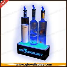Bar Bottle Display Stand Bar Back Glowing Led Lighted Liquor Bottle Display Stand Buy Bar 47