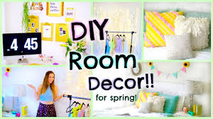 Room Decor Diy Diy Room Decor For Spring 2015 Easy Decorations For Cheap Youtube