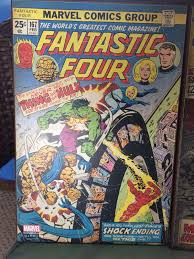 marvel the fantastic four 167 wooden wall art poster