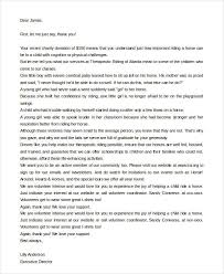 Thank You Letter For Donation – 9+ Free Word, Excel, Pdf Format ...