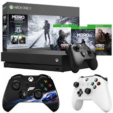 Xbox One White Light Details About Microsoft Xbox One X 1tb Metro Saga Bundle W Controller White Controller Bundle