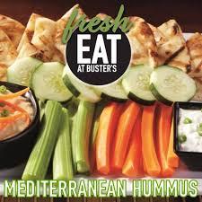 dave buster s terranean hummus clic hummus served with greek tzatziki dip warm grilled