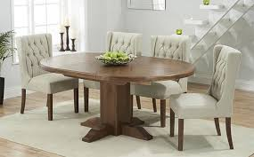 Extending Dark Wood Dining Table Sets