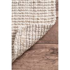 ashleigh jute rug bleached 4 x 6