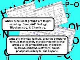 groups in biological molecules biochemistry for high school biology functional groups in biological molecules biochemistry for high school biology