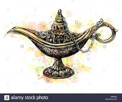 Aladdin Magic Lamp Stock Vector Art Illustration Vector Image