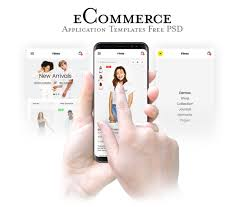 Free Ecommerce Website App Templates Psd At Freepsd Cc