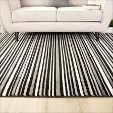 black and white check runner rug