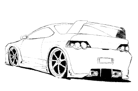 Small Picture Color in your favorit cars coloring page with some bright colors