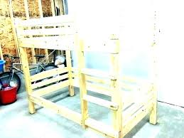 build your own bunk bed with slide building your own loft bed building your own loft