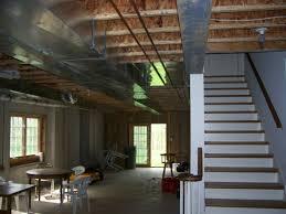 Attractive Unfinished Basement Design Ideas With Unfinished - Ununfinished basement before and after