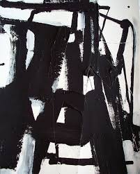abstract black and white painting modern art abstract urban minimalist painting by dj domi
