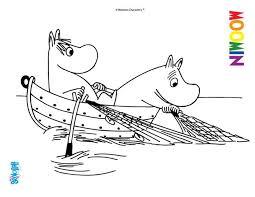 Printable Moomin Troll Pictures To Color Google Search Múmínálfar