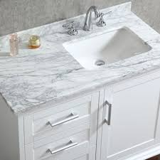 white single bathroom vanity. White Single Bathroom Vanity Elegant Ace 42 Inch Sink With Mirror