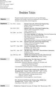 Engineering Resume Templates Electronics Resume Templates Download Free Premium Templates 55