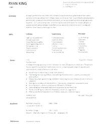 Resume Templates For Cooks Canadianlevitra Com