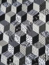 Black And White Quilt Patterns Impressive 48 Best Black White Quilts Images On Pinterest Bedspreads