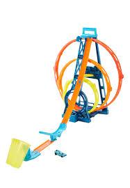"""<b>Hot Wheels</b>® Конструктор Трасс <b>игровой набор</b> """"Тройная петля ..."""