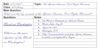 5 Cornell Notes Template Ideas Templates Assistant