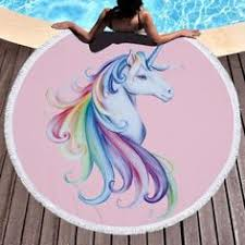 <b>Ariel Sarah</b> Flamingo Round Beach Towel Newest Style Fashion ...