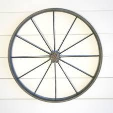 bike wheel wall decor