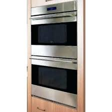 wolf double oven. Wolf E Series Oven Electric Double Built In Stainless Steel Dope S .