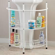 excellent details about bathroom storage cabinet pedestal sink organizer white