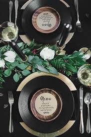 black gold bridal shower ideas