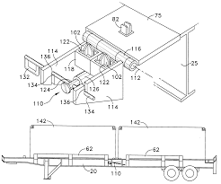 patent us intermodal transfer trailer patents patent drawing