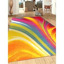 non slip area rugs modern contemporary waves multicolored non slip non skid area non slip non slip area rugs