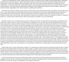 civil disobedience analysis essay civil disobedience analysis