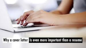 Do Not Underestimate The Importance Of A Cover Letter Cpa Career
