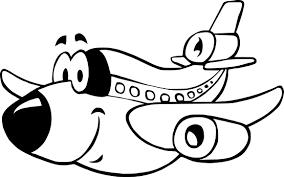 Coloriage Avion Enfant Imprimer