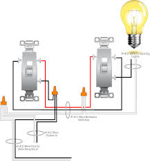 receptacle to a 3 way switch circuit 3 Wire Switch Wiring Diagram 3-Way Wiring Diagrams for Switches