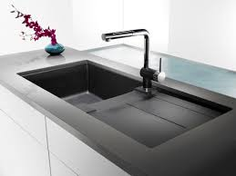 Blanco Granite Kitchen Sinks Blanco Technologies For Kitchen The Ojays Grey And Faucets