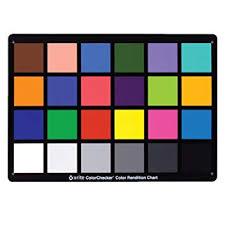 Gretagmacbeth Colorchecker Chart X Rite Colorchecker Classic Color Rendition Chart