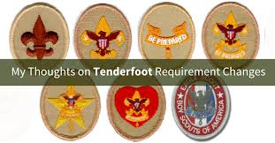 New Tenderfoot Rank Requirements Scoutmastercg Com