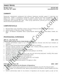 Administrative Assistant Resume Objectives Administrative Assistant ...