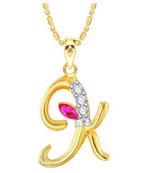 vk jewels alphabet with ganesh initial letter
