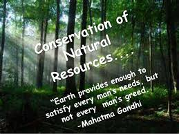 conservation of natural resources ppt conservation of natural resources as the human population is growing continuously
