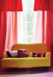 Red Curtains Living Room 17 Best Images About Red Themed Living Rooms On Pinterest Red