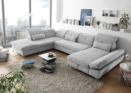 Details Zu Couch Melfi L Sofa Schlafcouch Wohnlandschaft Bettsofa Schlaffunktion U Form
