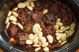 this slow cooker oxtail and er bean recipe has everything you could ever want in a