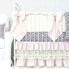 vintage baby bedding blossoms blush pink blue vintage baby girl crib bedding with large crib bows vintage baby girl nursery bedding