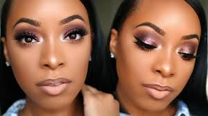 at parties these days it is not unmon to spot more that one lady rocking this trend glitters leave you with a very eye catching makeup