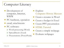 ... marketing resume sample. information literacy in the digital age