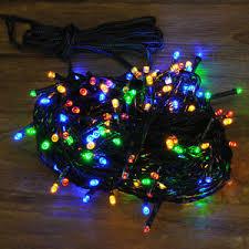outdoor fairy lighting. Image Is Loading Kingfisher-200-LED-Multi-Coloured-Christmas-Tree-Indoor- Outdoor Fairy Lighting 3