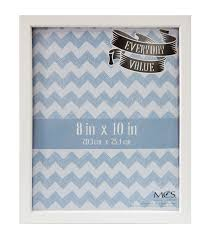 everyday value frame 8x10 white