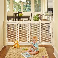 amazoncom  extrawide gate ivory fits spaces between  to