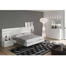 Sara White Modern Bedroom Set by Noci Design – City Schemes ...